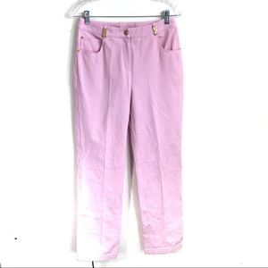 ST. JOHN SPORT Pink Denim Pants